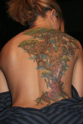 pin tattoo baum tattoos on pinterest. Black Bedroom Furniture Sets. Home Design Ideas