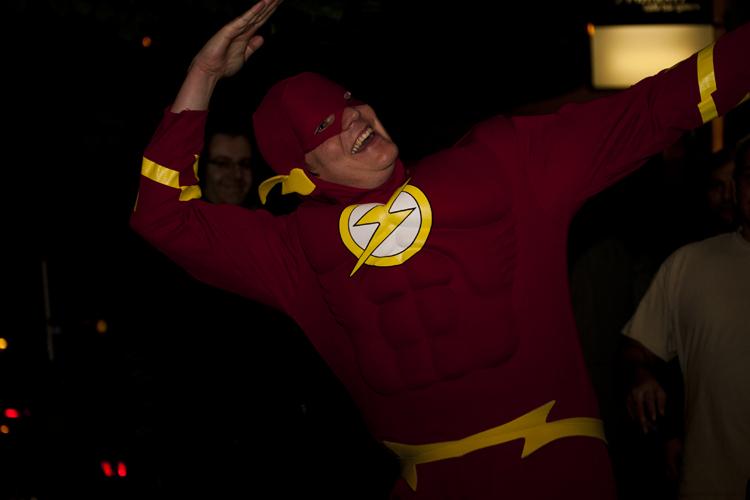 Der Flash kommt vorbei