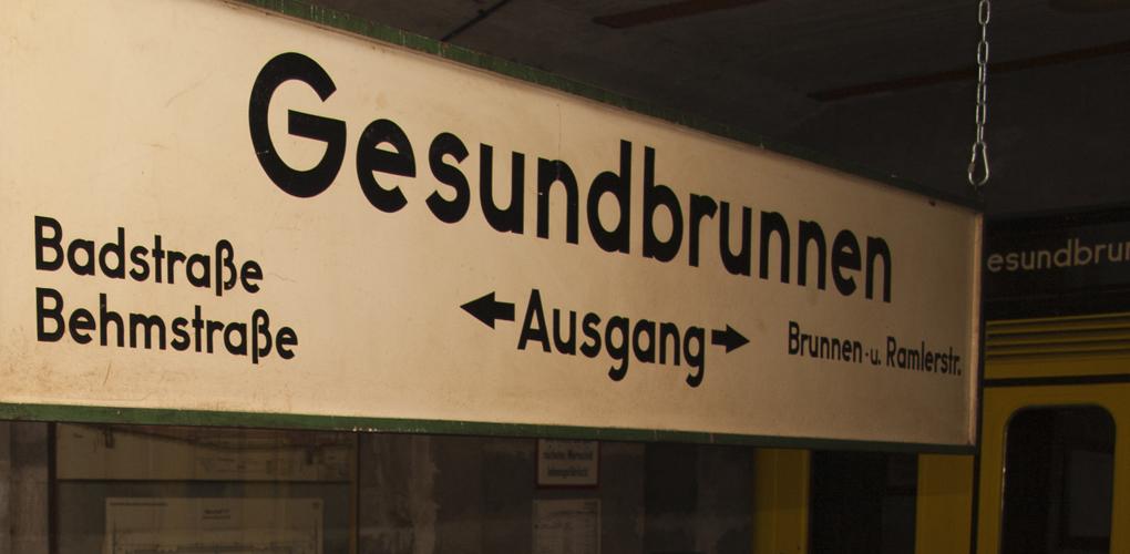 U-Bahn Gesundbrunnen