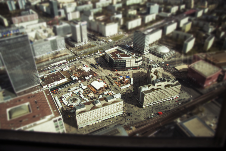 Alexanderplatz Tilt-Shift