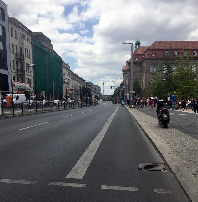 Invalidenstraßensperrung