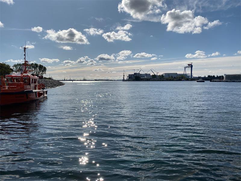 Richtung Hafen