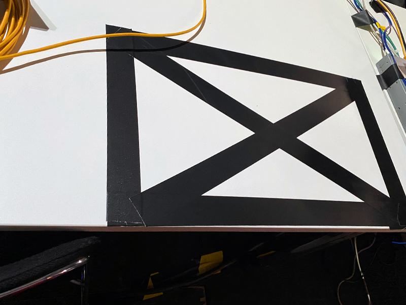Wireframe auf Tisch