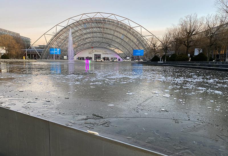 Es ist kalt in Sachsen